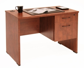 42 Inch Desk with Box/File Pedestal - SSP4224