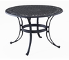 42 Inch Round Outdoor Dining Table in Black - Home Styles - 5554-30