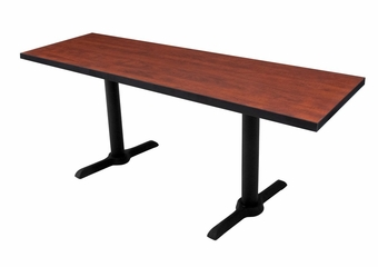 "42""x24"" Cain Rectangular Training Table - ROF-MTRCT4224"