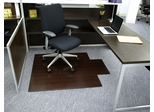 "44"" x 52"" - Bamboo Roll-Up Office Chair Mat in Dark Cherry - AMB24006W"