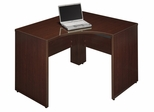 "47"" Left Corner Shell - Quantum Harvest Cherry Collection - Bush Office Furniture - QT0455CS"