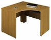 "47"" Left Corner Shell - Quantum Modern Cherry Collection - Bush Office Furniture - QT0455MC"