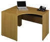 "47"" Right Corner Shell - Quantum Modern Cherry Collection - Bush Office Furniture - QT0465MC"