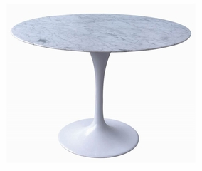 "47"" Round Eero Saarinen Tulip Dining Table - RT-335R"