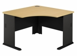 "48"" Corner Desk - Series A Beech Collection - Bush Office Furniture - WC14366"