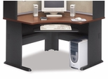 "48"" Corner Desk - Series A Hansen Cherry Collection - Bush Office Furniture - WC90466A"