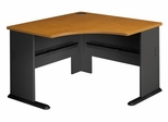 "48"" Corner Desk - Series A Natural Cherry Collection - Bush Office Furniture - WC57466"