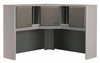 "48"" Corner Hutch - Series A Pewter Collection - Bush Office Furniture - WC14567"