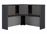 "48"" Corner Hutch - Series A Slate Collection - Bush Office Furniture - WC84867"