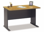 "48"" Desk - Series A Natural Cherry Collection - Bush Office Furniture - WC57448"