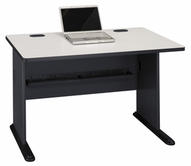 "48"" Desk - Series A Slate Collection - Bush Office Furniture - WC8448A"