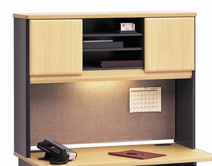 "48"" Hutch - Series A Beech Collection - Bush Office Furniture - WC14349"