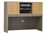 "48"" Hutch - Series A Light Oak Collection - Bush Office Furniture - WC64349"