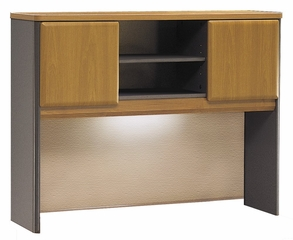 "48"" Hutch - Series A Natural Cherry Collection - Bush Office Furniture - WC57449"