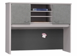 "48"" Hutch - Series A Pewter Collection - Bush Office Furniture - WC14549"