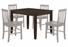 48 Inch Dining Table in Espresso - TW48SES