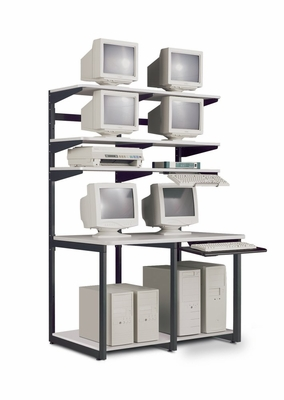 48 Inch E-LAN Computer Station - Mayline Office Furniture - 21148EZ