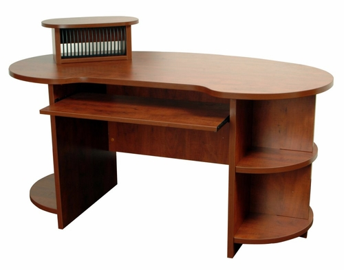 48 Inch Laminate Kidney Shaped Desk - Legacy Laminate - LKSCD4824