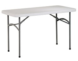 48 Inch Resin Multi Purpose Table - Office Star - BT04