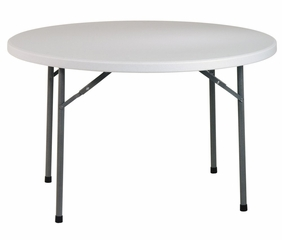 48 Inch Round Resin Multi Purpose Table - Office Star - BT48