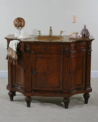 48 Inch Vanity in Cherry Burl - Ultimate Accents - 12483S