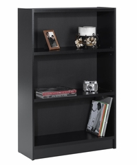 "48"" Tall Bookcase in Black - Essentials Collection - Nexera Furniture - 731106"