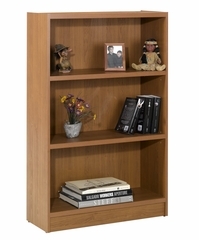 "48"" Tall Bookcase in Cappuccino - Essentials Collection - Nexera Furniture - 731108"