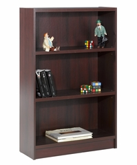 "48"" Tall Bookcase in Mahogany - Essentials Collection - Nexera Furniture - 731102"