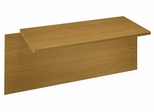 48 x 24 Bridge - Quantum Modern Cherry Collection - Bush Office Furniture - QT6885MC