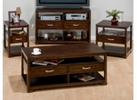 4PC Livingroom Table Set in Benali Birch - 741-1