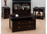 4PC Livingroom Table Set in Corranado Espresso - 319-5