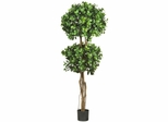 5.5' Eucalyptus Double Ball Topiary Silk Tree - Nearly Natural - 5248