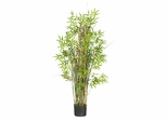 5' Bamboo Grass Silk Plant in Green - Nearly Natural - 6569