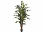 5' Bamboo Palm Silk Tree - Nearly Natural - 5329