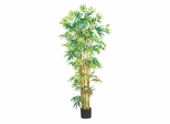 5' Bambusa Bamboo Silk Tree in Green - Nearly Natural - 5179