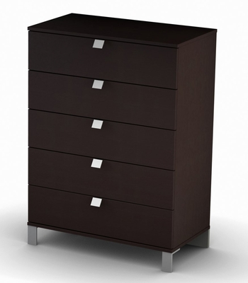 5-Drawer Chest in Chocolate - South Shore Furniture - 3259035