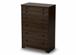 5-Drawer Chest in Moka - Popular - South Shore Furniture - 2779035