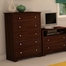 5-Drawer Chest in Somptuous Cherry - South Shore Furniture - 3156035