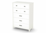 5 Drawer Chest - Tiara - South Shore Furniture - 3650035