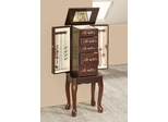 5 Drawer Jewelry Armoire with Floral Accents - 903806