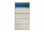 5-Drawer Lateral File - Gray - LLR60442