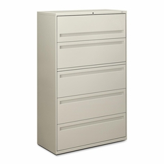 5-Drawer Lateral File - Light Gray - HON795LQ