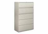 5-Drawer Lateral File - Light Gray - HON895LQ