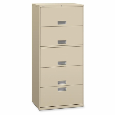 5-Drawer Lateral File - Putty - HON655LL