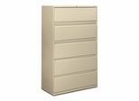 5-Drawer Lateral File - Putty - HON895LL