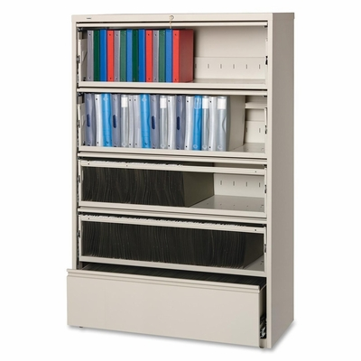 5-Drawer Lateral File - Putty - LLR43516