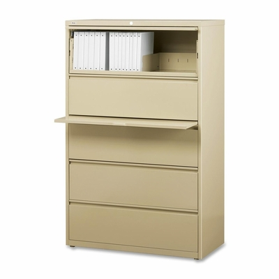5-Drawer Lateral File - Putty - LLR60432