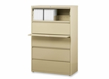 5-Drawer Lateral File - Putty - LLR60441