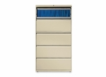 5-Drawer Lateral File W/Lock - Putty - HON885LL