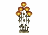 5-Light Sunflower Table Lamp - Dale Tiffany